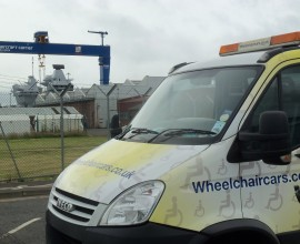 wheelchair cars purpose built truck,