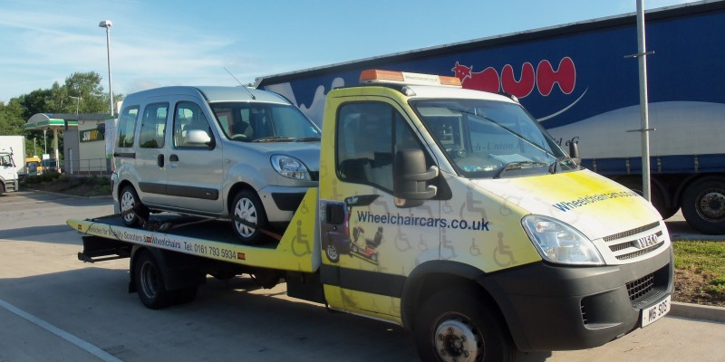 wheelchair access car to stoke