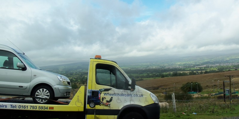 wheelchair car Ribble valley