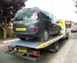 Renault Espace wheelchair car Leicester