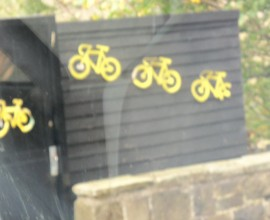 Yellow bicycles yorkshire