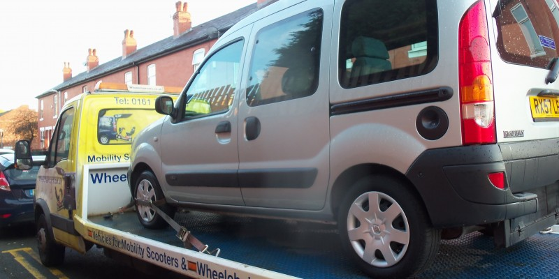 wheelchair access car Rochdale