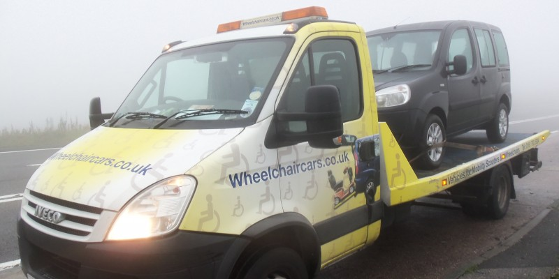 wheelchair car penistone