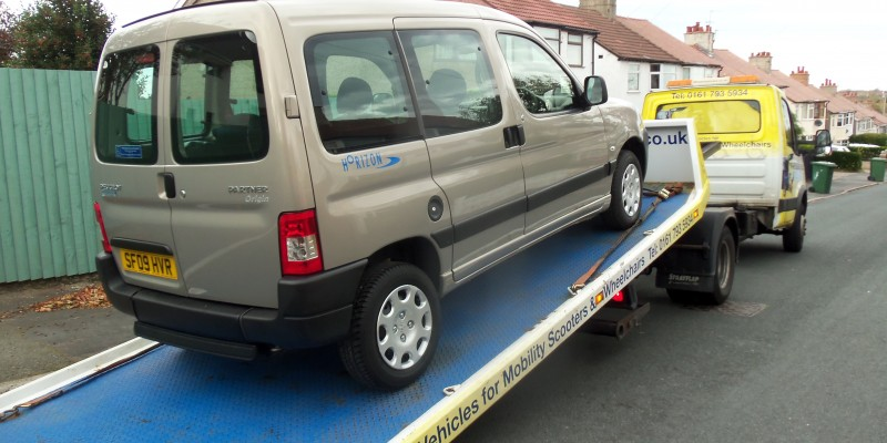 disabled cars wirral