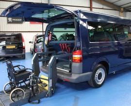 vw transporter wheelchair vehicle (3)