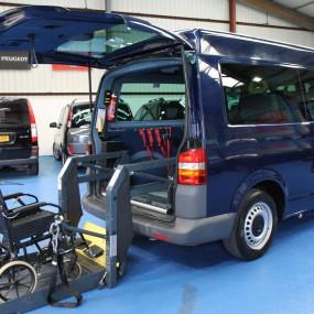 vw transporter wheelchair vehicle