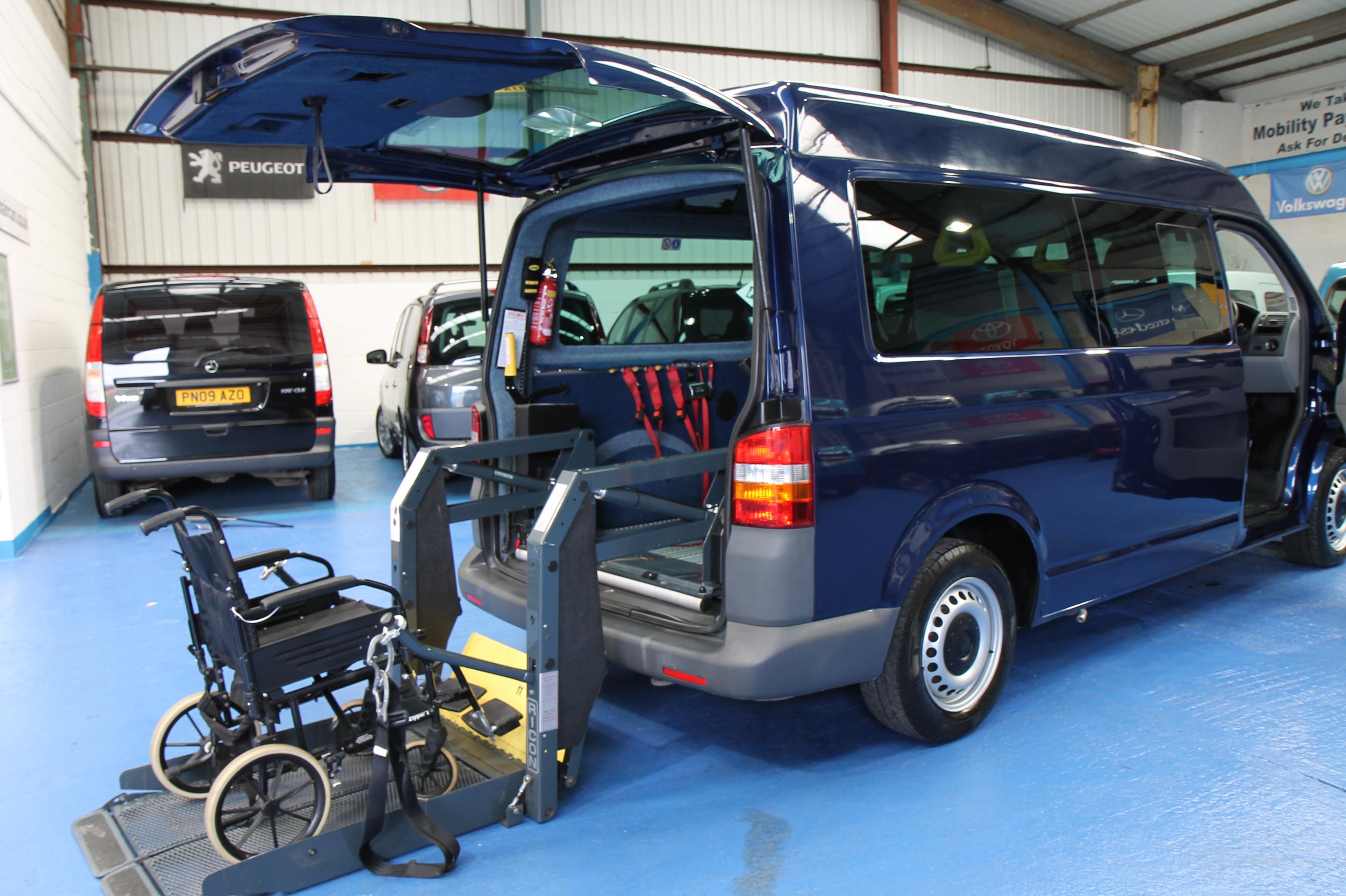 Vw Transporter Wheelchair Vehicle 3 Jpg