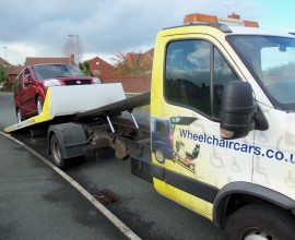 wheelchair car deeside