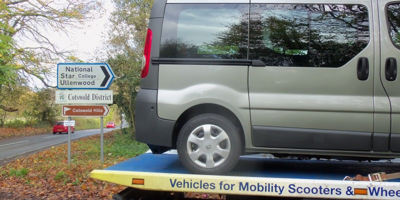wheelchair cars Cotswolds