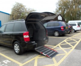 kia mobility car cheshire