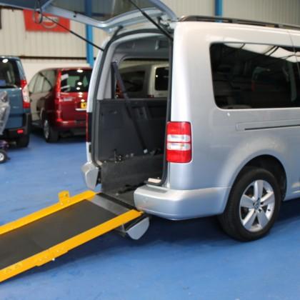 Caddy wheelchair adapted NK60 EWY