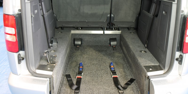 Caddy wheelchair adapted (2)