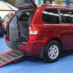 Kia sedona Auto Wheelchair car yj61dhz (1)