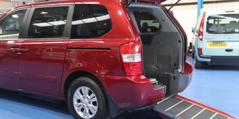 Kia sedona Auto Wheelchair car yj61dhz (2)