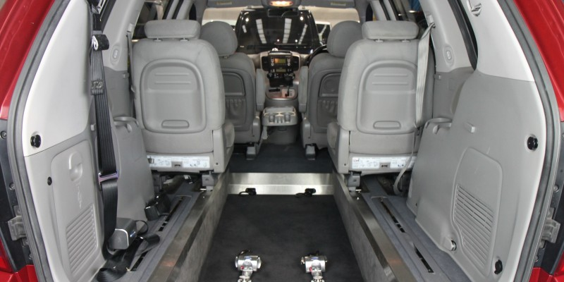 Kia sedona Auto Wheelchair car yj61dhz (3)