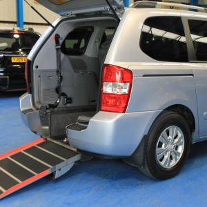 Kia sedona Auto Wheelchair car yj11dbu (1)