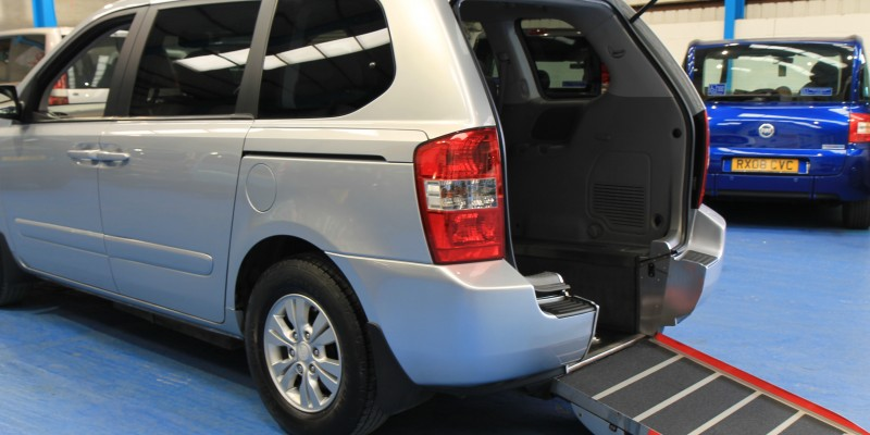 Kia sedona Auto Wheelchair car yj11dbu (3)