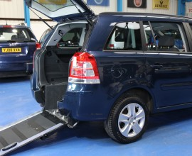 Zafira Wheelchair Access NU62 XSD