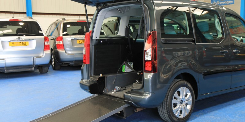 Berlingo Wheelchair adapted sm63bcy (1)