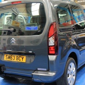 Berlingo Wheelchair adapted sm63bcy (18)