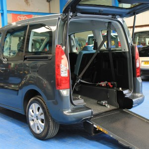 Berlingo Wheelchair adapted sm63bcy (2)