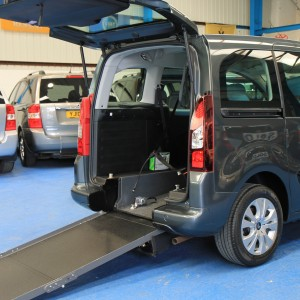 Berlingo Wheelchair adapted vehicle sm63 (1)