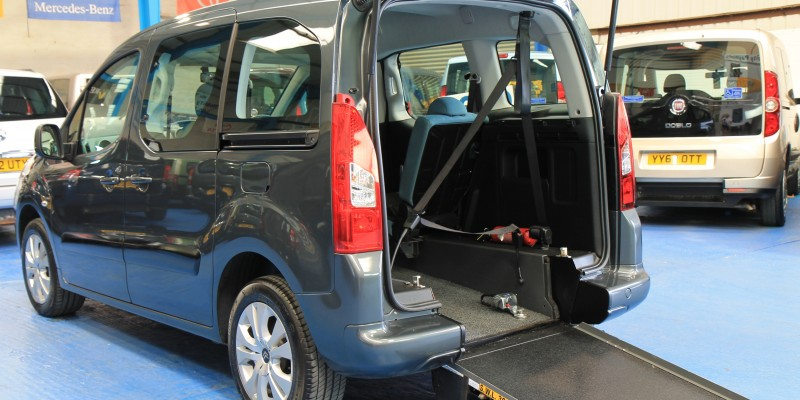 Berlingo Wheelchair adapted vehicle sm63 (2)