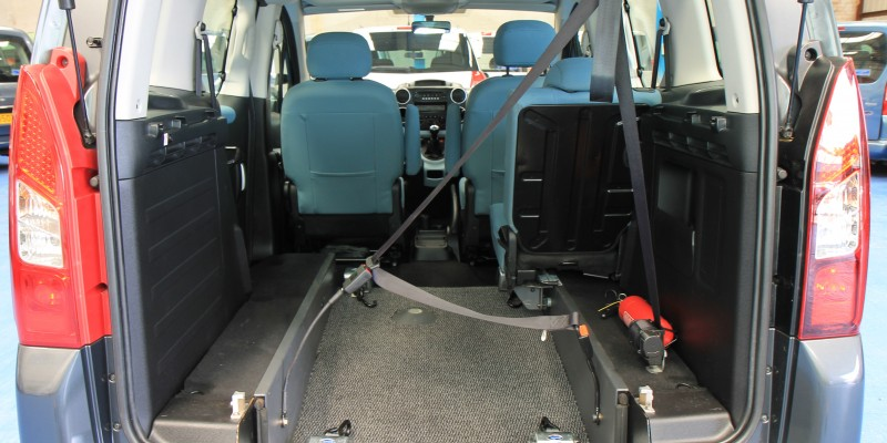 Berlingo Wheelchair adapted vehicle sm63 (3)
