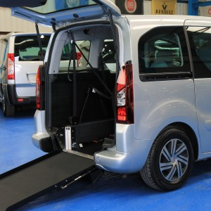 Berlingo Wheelchair access vehicle vui1227 (1)