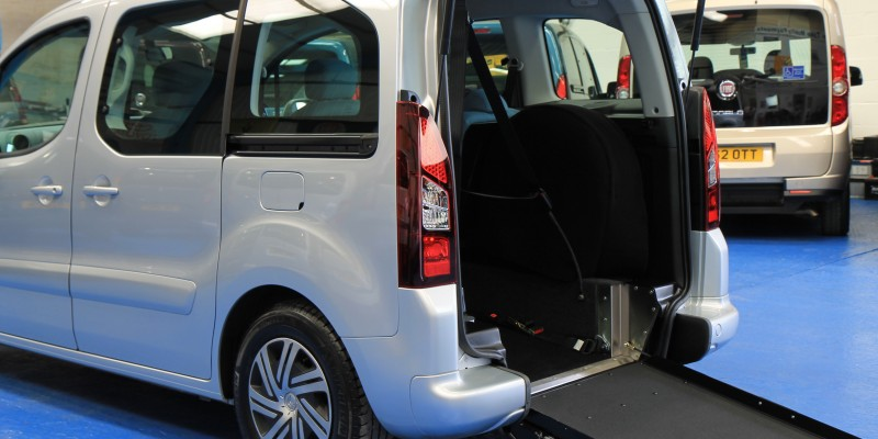 Berlingo Wheelchair access vehicle vui1227 (2)