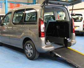 Berlingo Wheelchair Adapted WG62 CZR