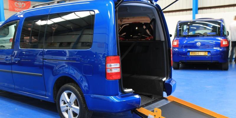 Caddy Wheelchair accessible bxz8606(21)