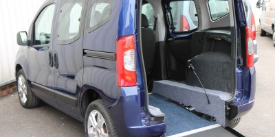 Fiat Qubo Wheelchair adapted car YY11 OFC