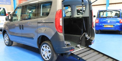 New shape Doblo wheelchair accessible car YY65