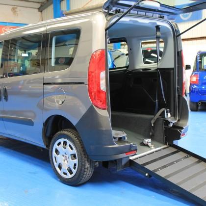 New shape Doblo wheelchair accessible car YY65