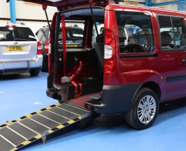 Doblo Wheelchair Accessible vehicles YN56PFO