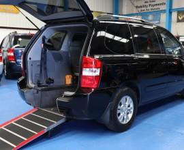 We supply used Wav vehicles to warrington