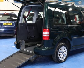 Caddy Wheelchair Accessible vehicle hf12 aco