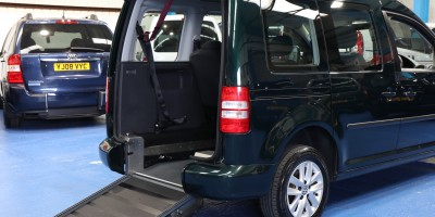 Caddy Wheelchair adapted cars hf12