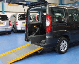 Doblo Wheelchair accessible car NK60ENX