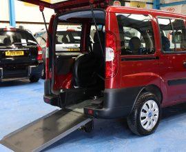 Doblo wheelchair cars sp10 cpf