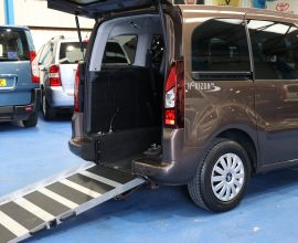Partner wheelchair vehicle sd63 eht