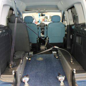 Berlingo wheelchair vehicle fxz 8145