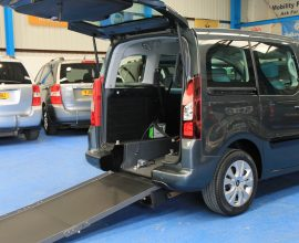 Berlingo wheelchair car wa13 egk