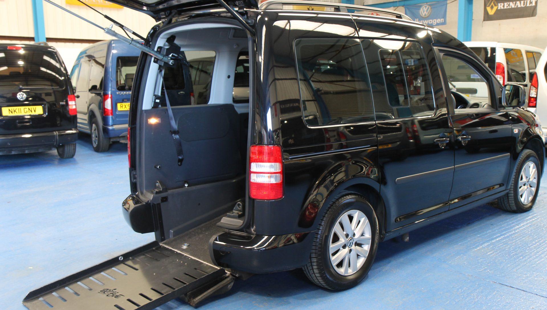 Caddy Transfer wheelchair car bn11 nvy