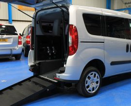 Doblo wheelchair vehicle yx15 bzn