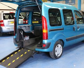 Kangoo Transfer wheelchair vehicle po58 enu