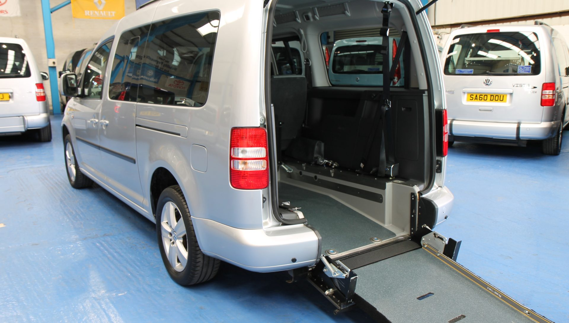 Caddy Wheelchair cars Sj60 ylw