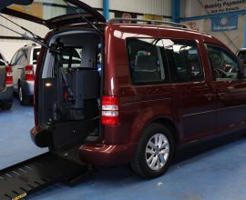 Caddy upfront wheelchair car bd11 mge