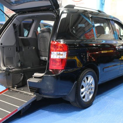Sedona wheelchair cars yj60 klp